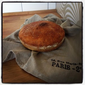 Domácí kváskový chléb Slámy v botách