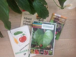 Knihy Biozahrada, omplletní návod na vytvoření ekozahrady a rodového statku, Zdraví z boží lékárny, Jedlé bylinky a plody