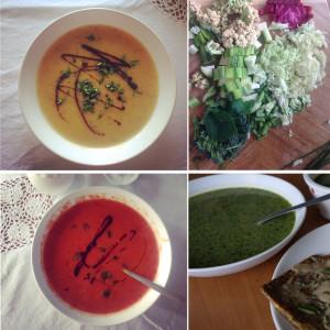 Rozhodla jsem se dělat PR ranním polévkám. Foto: Sláma v botách