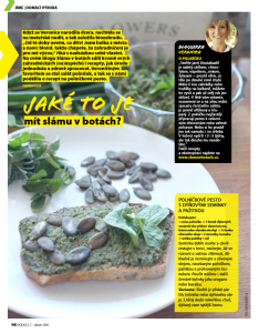 Foto: reprint časopis KONDICE, duben 2016