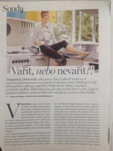 foto: repro z časopisu Marie Claire