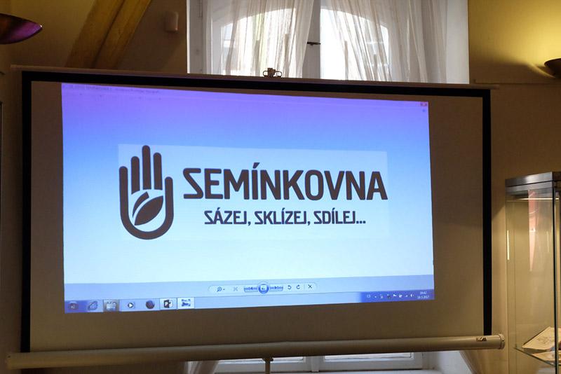Semínkovna Louny. Foto: Sláma v botách