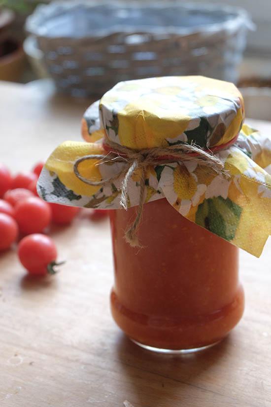 Bio kečup s cuketou. Foto: Sláma v botách
